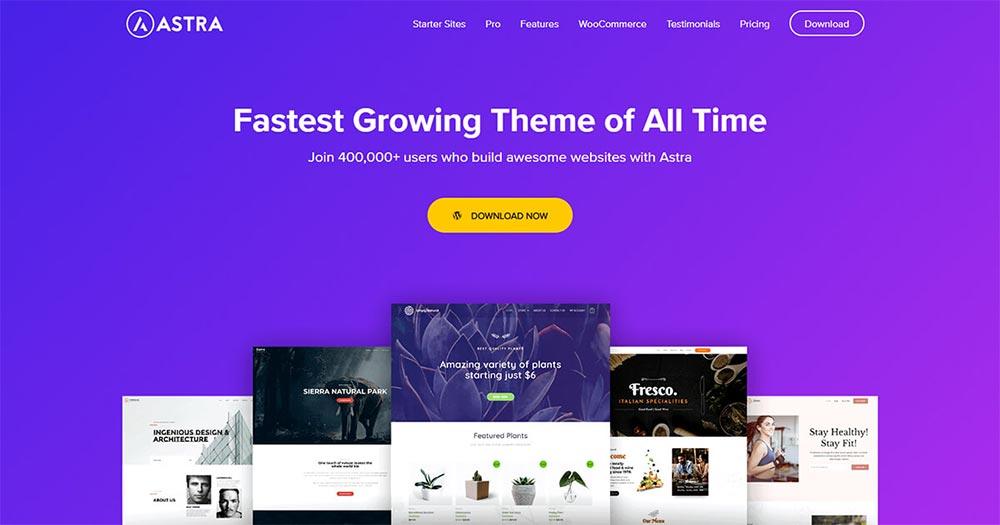 Theme WordPress Astra
