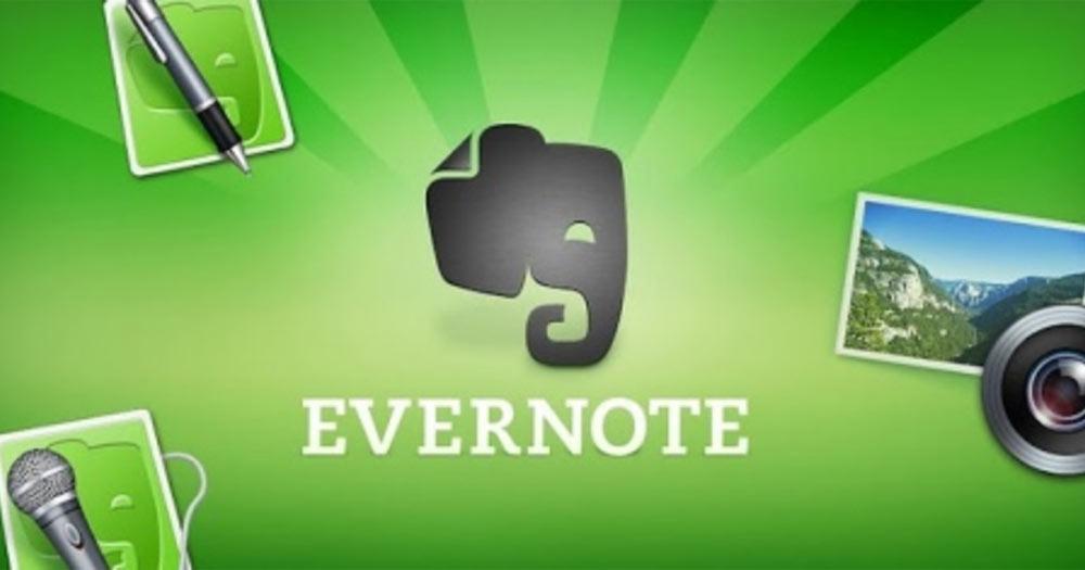 ứng dụng học tập miễn phí Evernote