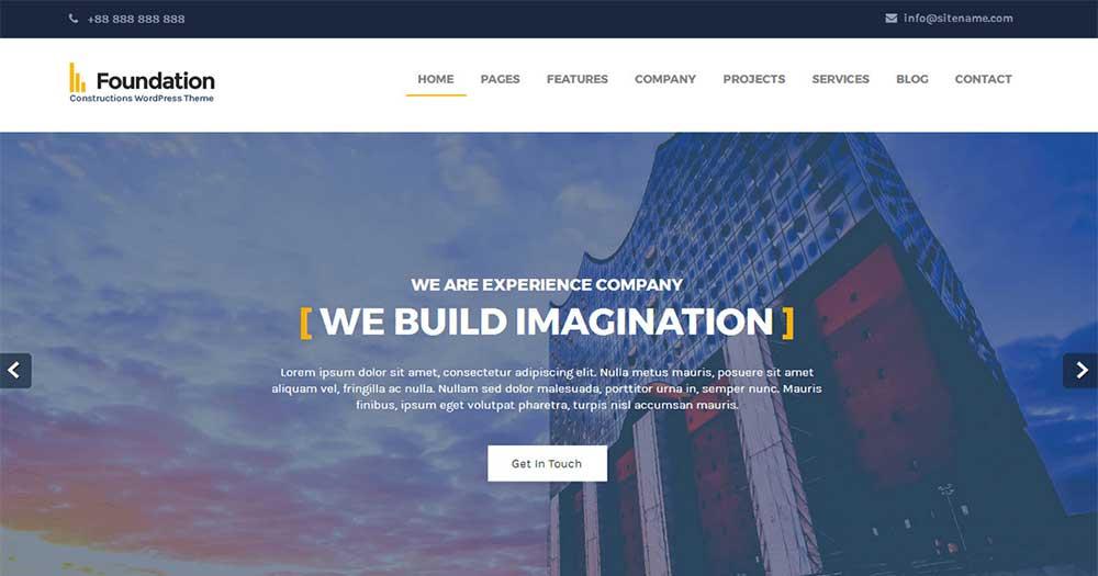 WordPress Template Foundation