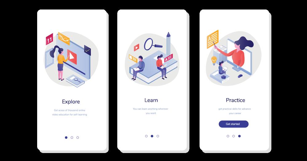 Thiết kế website e-learning tương thích với các nền tảng