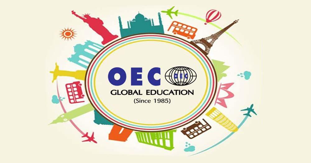 Thiết kế website du học OEC Global