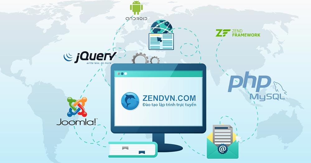 Học code online website Zendvn.com
